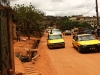 Cabs in Yaoundé's streets