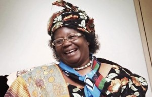 Vice president Joyce Banda paid homage to dead Robert Chasowa hinting at what many believe to have been murder
