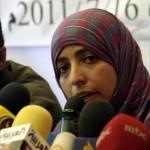 Eine der Preisträgerinnen: Die jemenitische Politikerin Tawakel Karman