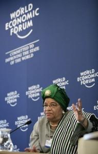 Unter den drei Preisträgern ist auch die liberische Präsidenten Ellen Johnson Sirleaf