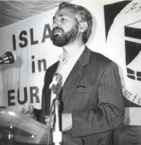 Rached Ghannouchi, Gründer der Ennahda, vor 1982
