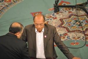 Marzouki bei einer Sitzung der verfassungsgebenden Versammlung in Bardo - Copyright: tab59
