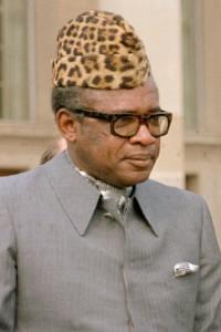 Mobutu 1983 bei einem Staatsbesuch in den USA - Copyright: Frank Hall