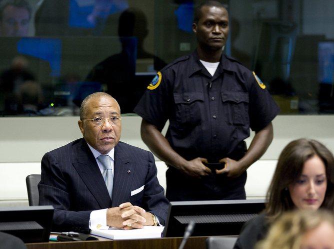 Former Liberian President Charles Taylor in Leidschendam, Netherlands, 05 August 2010. © EPA/Vincent Jannink