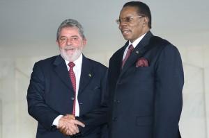 Malawi's current president Bingu wa Mutharika (r), Copyright: Gustavo Ferreira/ MRE