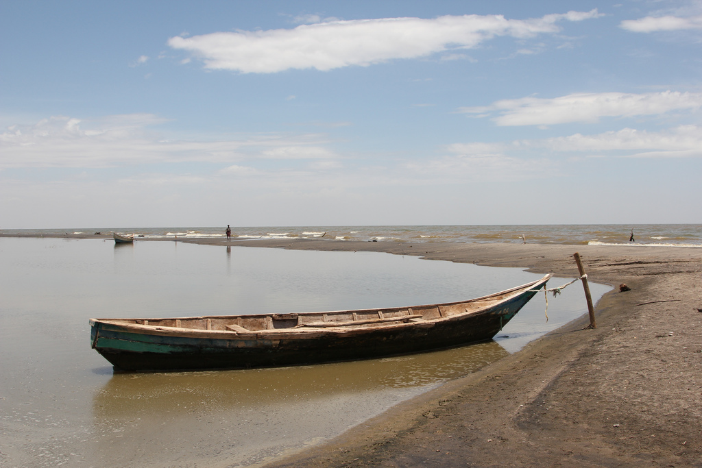 Lake Turkana serves as a fishing ground for many people living on its shores, making it a central source for nutrition in a barren region © DFID - UK Department for International Development