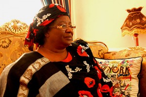 President Joyce Banda fears loosing foreign donors for Malawi, Copyright: tlupic