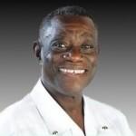 John Atta Mills (1944 – 2012) auf einem Wahlkampfplakat von 2008. © NDCP