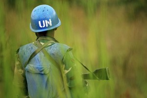MONUC soldiers are securing the area in and around Goma, Copyright: UN Photo/Martine