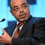Der mittlerweile verstorbene Premierminister Meles Zenawi (World Economic Forum)