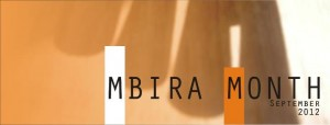 Mbira Month September 2012, Copyright: Mbira Exhibition Online