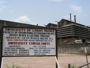 Little attractive: University of Lagos Faculty of Engeneering © Zouzou Wizman