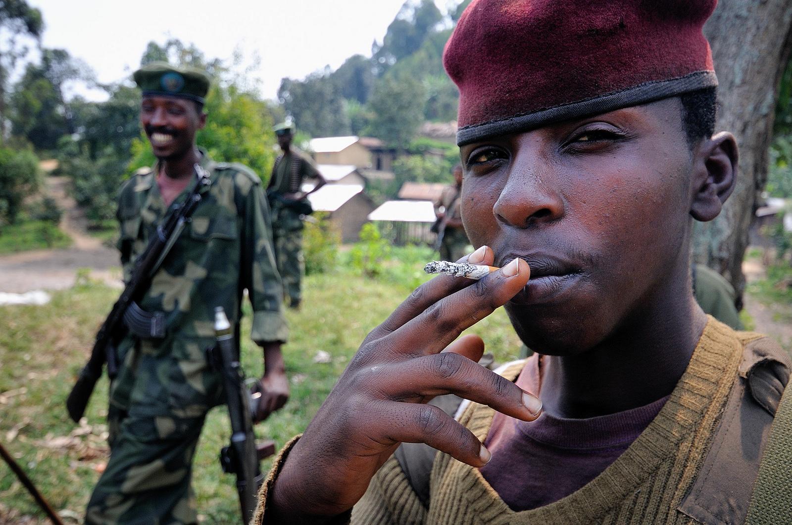 Geben sich Gesprächsbereit: Rebellen der M23 (Bewegung des 23. März) © Al Jazeera English