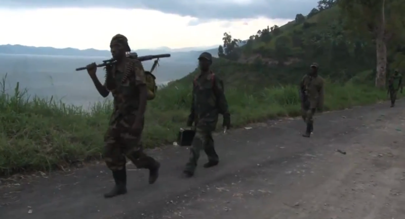Rebellen der M23 ziehen sich aus Goma zurück. © Gabe Joselow