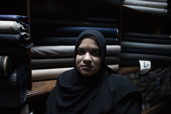 Faywza, 34, sister of Roshdy. He was killed in Port Said. © Ben Kilb