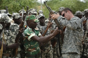 US Army training Malian soldiers © U.S. Army