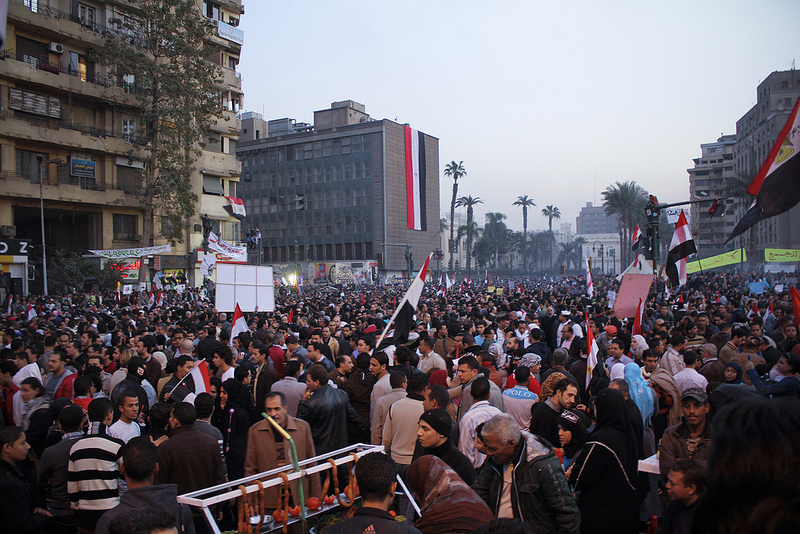Tahrir Square on 25 February 2013 © Gigi Ibrahim