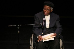 The father of African Literature, Chinua Achebe, © Angela Radulescu