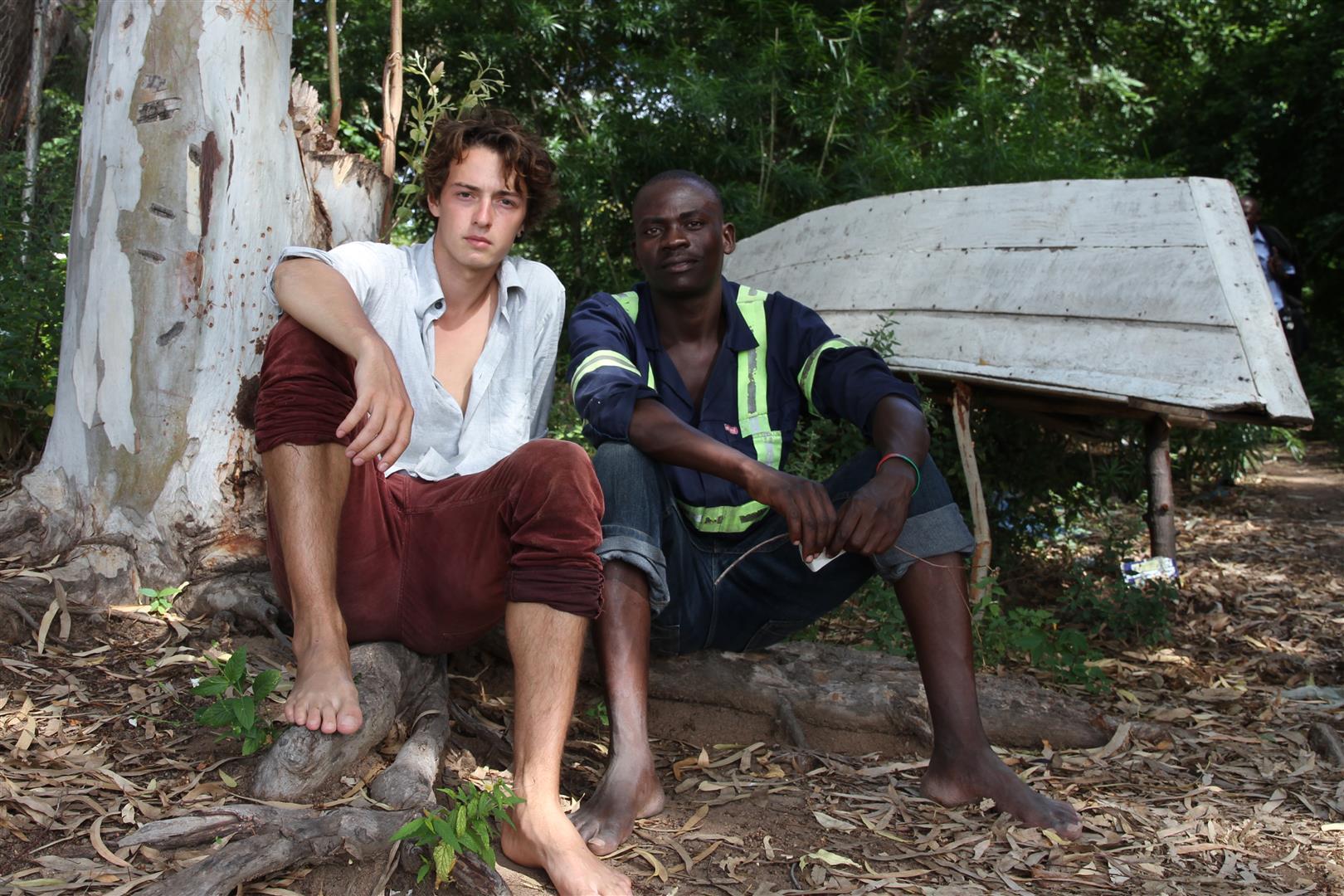 Stellen bald ihren Film auf Eufrika.org vor: Manuel Rees und Chipiliro Masina