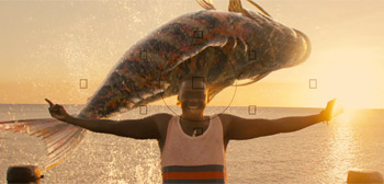 Mbwana and the bigh fish that shall change his life.