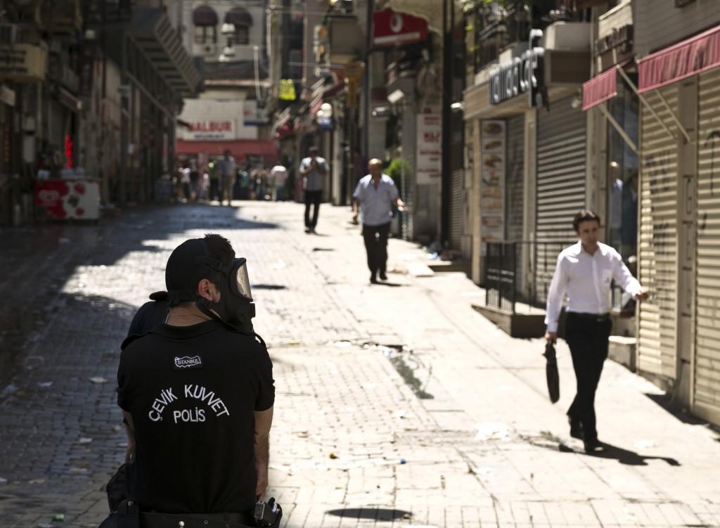 Tagsüber friedlich, Istanbul nach und vor den Protesten (© Eser Karadag)