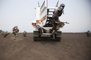 South African troops with the Force Intervention Brigade (FIB) of the UN Organization Stabilization Mission in the Democratic Republic of the Congo (MONUSCO), ©  UN Photo/Sylvain Liechti