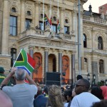 The Grand Parade in Cape Town were Mandela himself held his famous speech after his release from prison