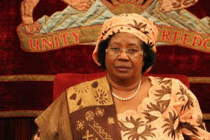 Incumbent President Joyce Banda has nullified Malawi's presidential elections. © DFID