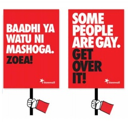 Baadhi ya watu ni mashoga. Zoea!/Some people are gay. Get over it!