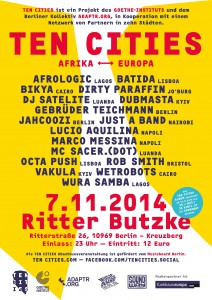 Ten Cities Poster