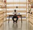 Gegenwart ohne Afrika: Meschac Gaba schafft sein eigenes Museum