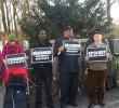 Übergabe von Herero-Petition an Auswärtiges Amt