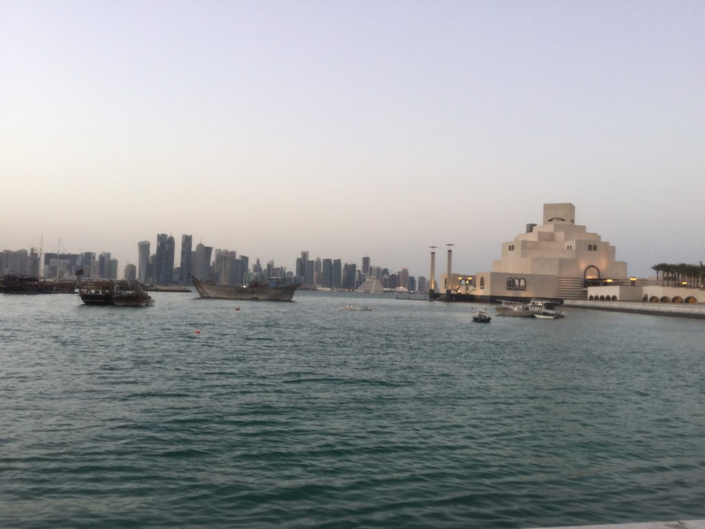 Doha skyline with the Museum of Islamic Art, © African Studies Centre Leiden (ASC)